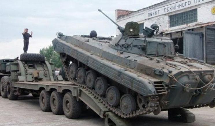 В Николаеве восстановили почти 150 единиц бронетехники сил АТО