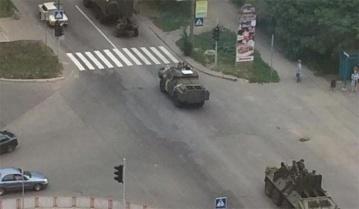 Танковая колонна террористов выдвинулась в район Дебальцево для помощи боевикам