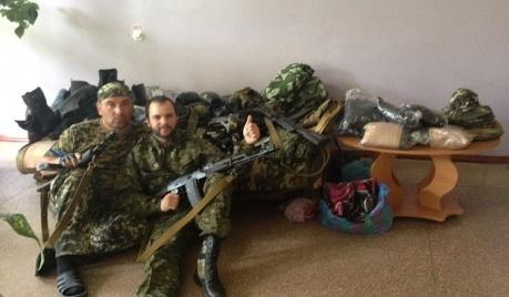 Ряды сепаратистов Донбасса пополнили латышские стрелки-наемники