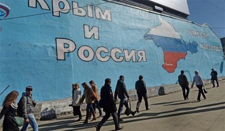 Большинство россиян считают, что присоединение Крыма к РФ, вызывало в Украине ненависть к России