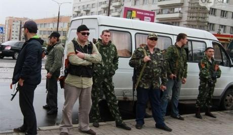 В торговом центре Горловки террористы «поживились» на 2 млн грн