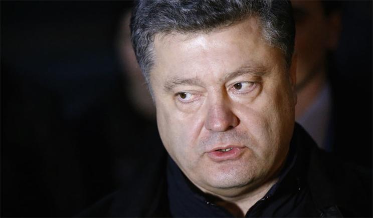 Порошенко подписал указ о награждении украинских военных за освобождение Славянска