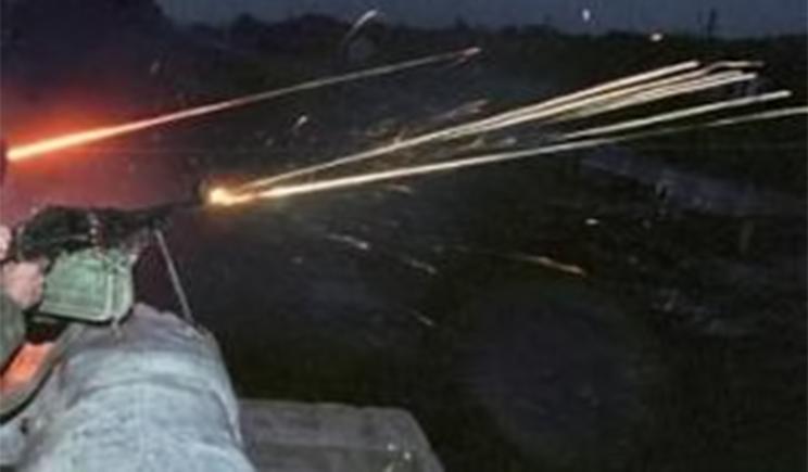 За ночь дважды обстреляны позиции сил АТО, сбит беспилотник террористов