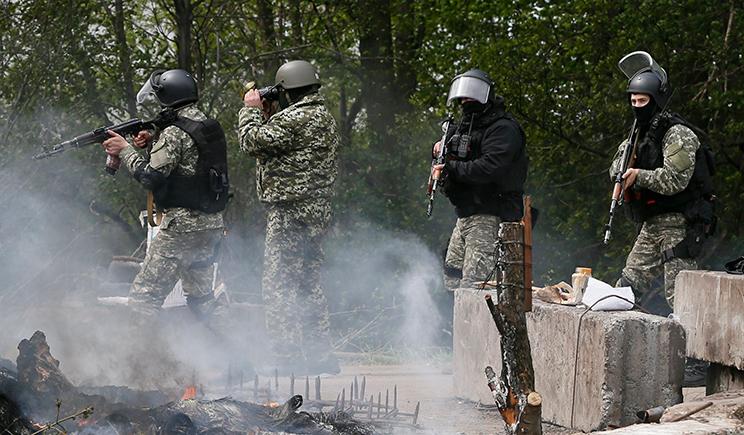 Русскоязычные украинские националисты сформировали партизанский отряд и для отлова вождей сепаратистов