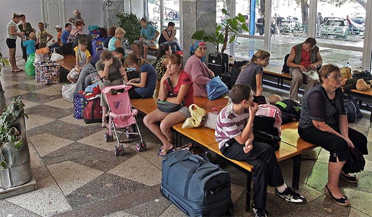Всех украинских туристов Россия считает беженцами – СНБО
