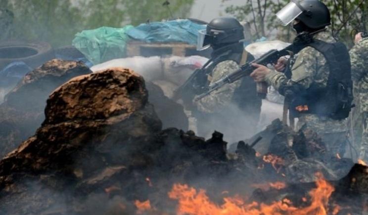 Украинские войска зачищают пригород Славянска