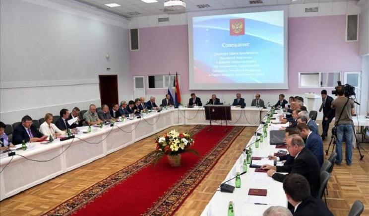 Путин собирает Совбез для обсуждения вопроса территориальной целостности России
