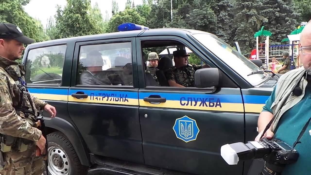 Как задерживали секретаря Славянского горсовета ВИДЕО