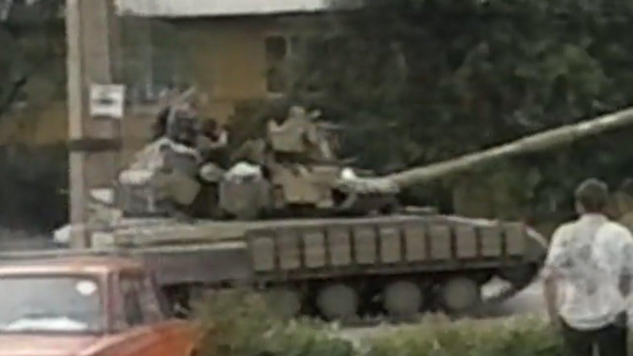 Колонная военной техники РФ в Донецкой области (ВИДЕО)