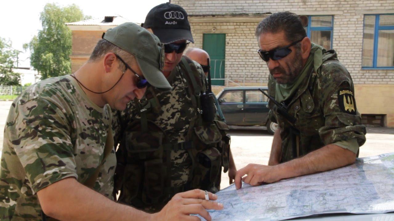 Прорываясь с окружения бойцы батальона «Донбасс» уничтожили часть техники и живой силы противника
