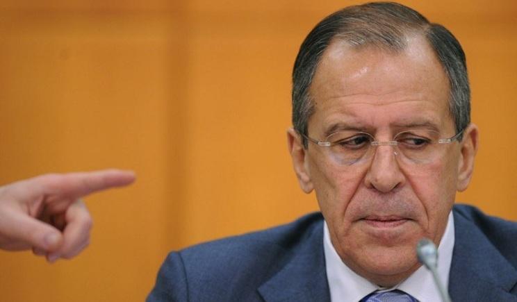 Лавров одобряет совместные действия российских войск и террористов в Донецкой области
