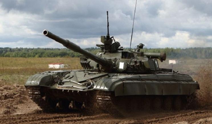 Украинские танки вошли в Николаевку