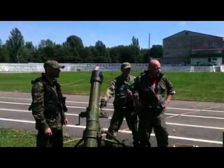 Террористы ДНР хвастаются на видео тем, что хаотически обстреливают жилые районы