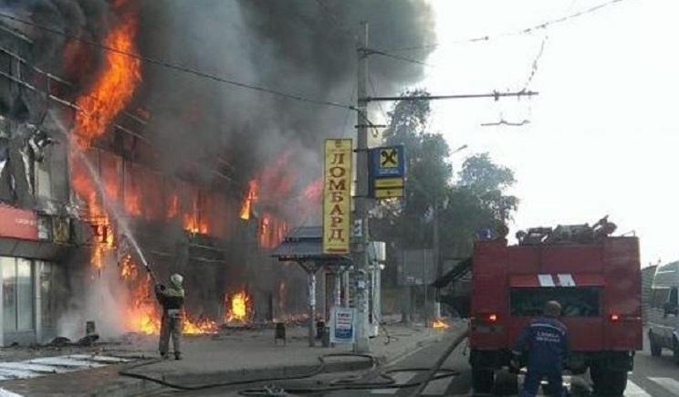 Взрывы в Донецке совершают террористы ВИДЕО