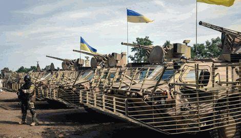 Силы АТО переходят в контрнаступление под Мариуполем