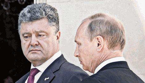 Порошенко позвонил Путину по случаю годовщины подписания Минских соглашений, — СМИ