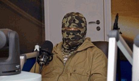 Семен Семенченко обратился к народу и снял маску