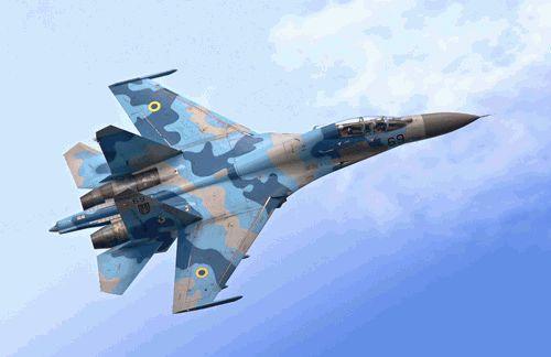 Российские зенитные установки сбили украинский СУ-25