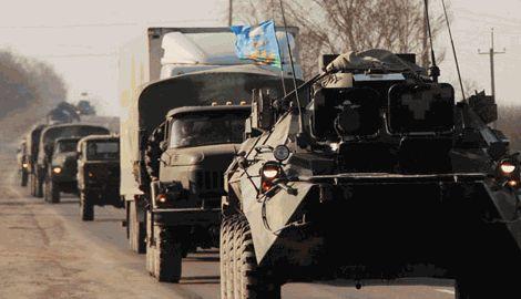 В Крыму заявили, что украинского оружия у них больше нет