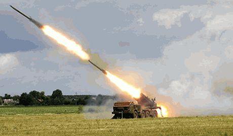 Этой ночью позиции ВСУ снова обстреляли с территории РФ, применив систему залпового огня «Ураган»