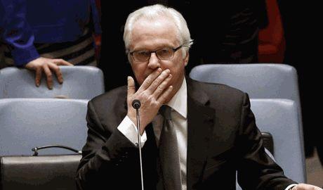 Чуркин нахамил Яценюку за его советы Путину