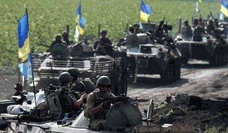 Ситуация на востоке Украины по состоянию на 12 часов 21 августа.