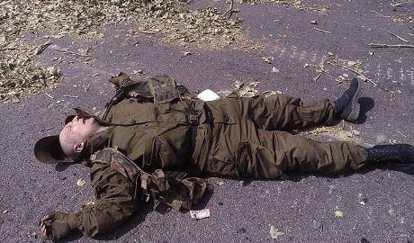 Возле Донецка уничтожена колонна боевиков ФОТО +18