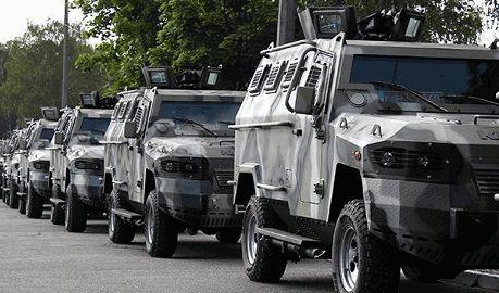 Техника с парада ко Дню Независимости уже отправилась в зону АТО ФОТО