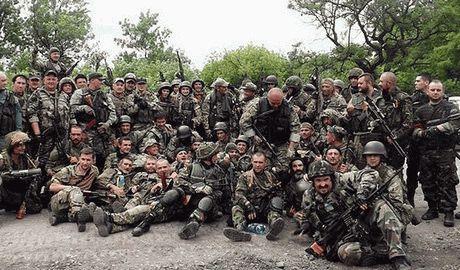 Освобождения 93-й бригадой ВСУ и Правым сектором н.п. Авдеевка