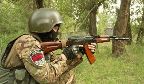 Батальон Шахтерск опубликовал видео боя в Мариновке