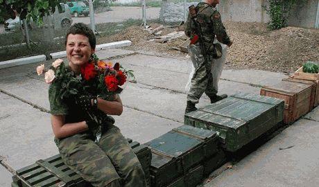 На стороне ДНР воюет белоруска Наташа, которая приехала в Украину отстоять единство славян