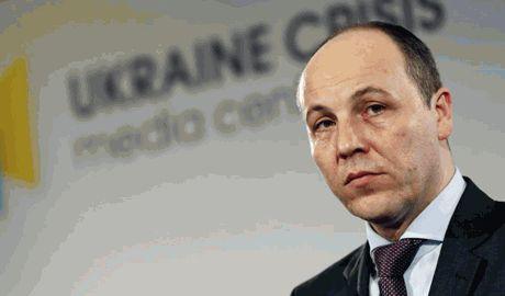 Андрей Парубий подал в отставку с поста секретаря СНБО