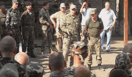 """Валерий Гелетей посетил батальон Айдар, пообещав, что батальону """"быть!"""""""