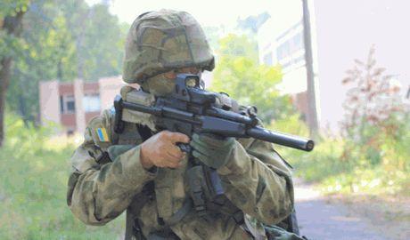 ССО — новосозданный украинский спецназ, уже оттачивает свои навыки в тылу боевиков