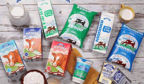 В Крыму в упаковке с надписью «Натуральное молоко» продают простую воду ВИДЕО