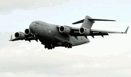 В Харькове приземляются военно-транспортные самолеты НАТО