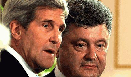 Джон Керри дал высокую оценку действиям Петра Порошенко 8 августа, когда РФ пыталась вести свои миротворческие войска