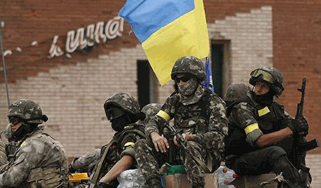 «Червона Рута» в исполнении украинских силовиков в зоне АТО Видео