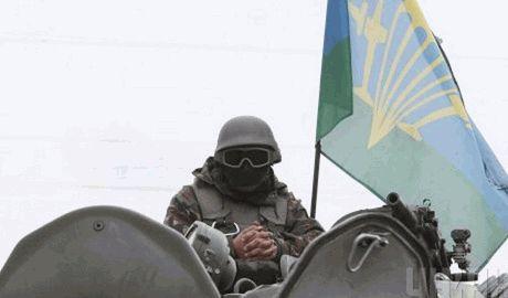 Украинские десантники отметили свой праздник, уничтожив колонну террористов под Луганском