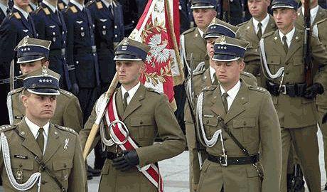 На военном параде в Варшаве, поляки хотели бы видеть армию братской Украины ФОТО