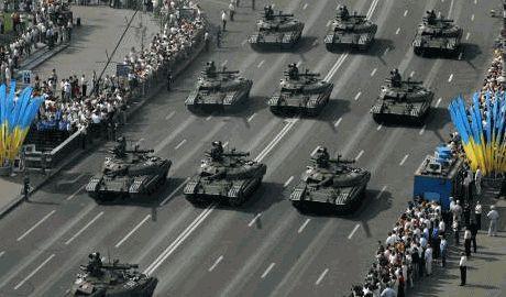 Стоимость парада в Киеве, в честь  дня независимости, 80 миллионов гривен, — источник