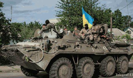 ВСУ вошли в Луганск, идут тяжелые бои