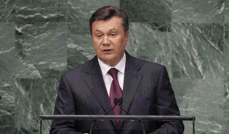 ООН вернуло Януковича на должность президента