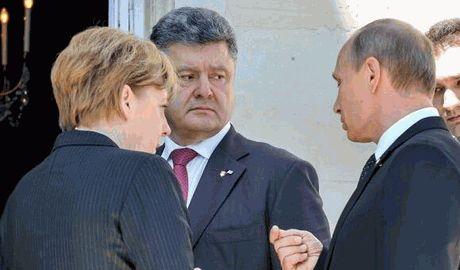 ЕС готовит трехсторонние переговоры с участием  Порошенко и Путина