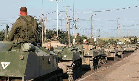 Бронетехнику РФ, что зашла на украинскую территорию, уничтожила артиллерия ВСУ, – Луценко
