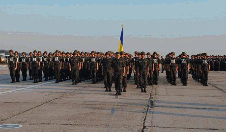 ВСУ готовятся к параду по случаю дня независимости Украины ВИДЕО