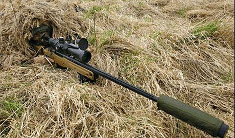 В Луганске партизан-снайпер оставил в подарок одному из спецназовцев РФ, 9 грам свинца в голове