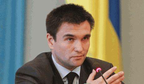 Глава МИД Украины Павел Клімкін сегодня вечером примет участие в переговорах, относительно ситуации на востоке Украины