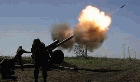 В Харцызский военкомат где располагались боевики, попал снаряд ВСУ
