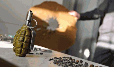 Террористы на могиле погибшего бойца «Айдара», установили растяжку ФОТО